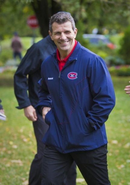 Le directeur général du Canadien, Marc Bergevin. | 19 septembre 2012