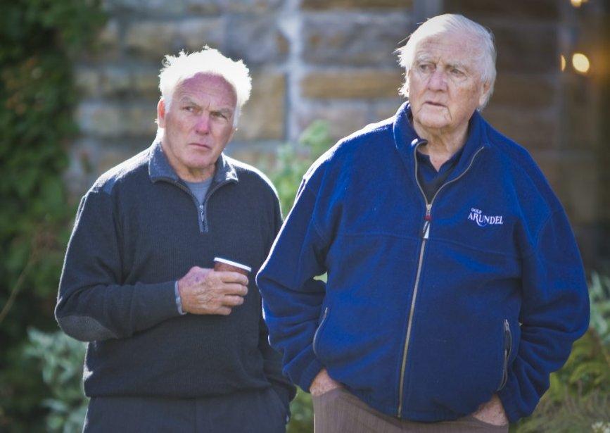 Henri Richard et Dickie Moore | 19 septembre 2012