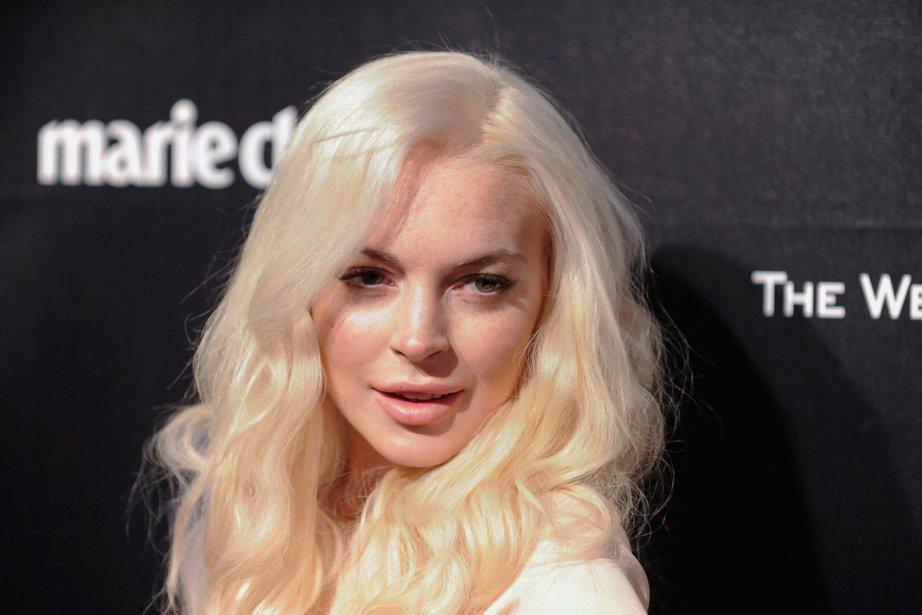 Lindsay Lohan... (PHOTO GUS RUELAS, REUTERS)