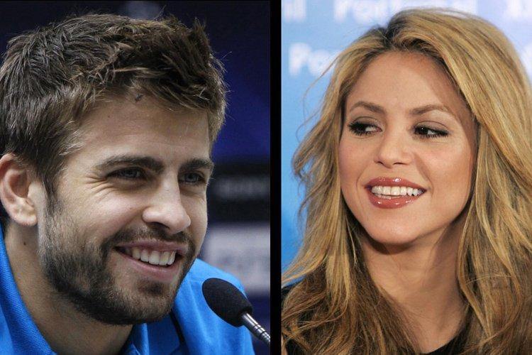 Shakira et son compagnon, le footballeur espagnol du Barça... (Photo: Reuters)