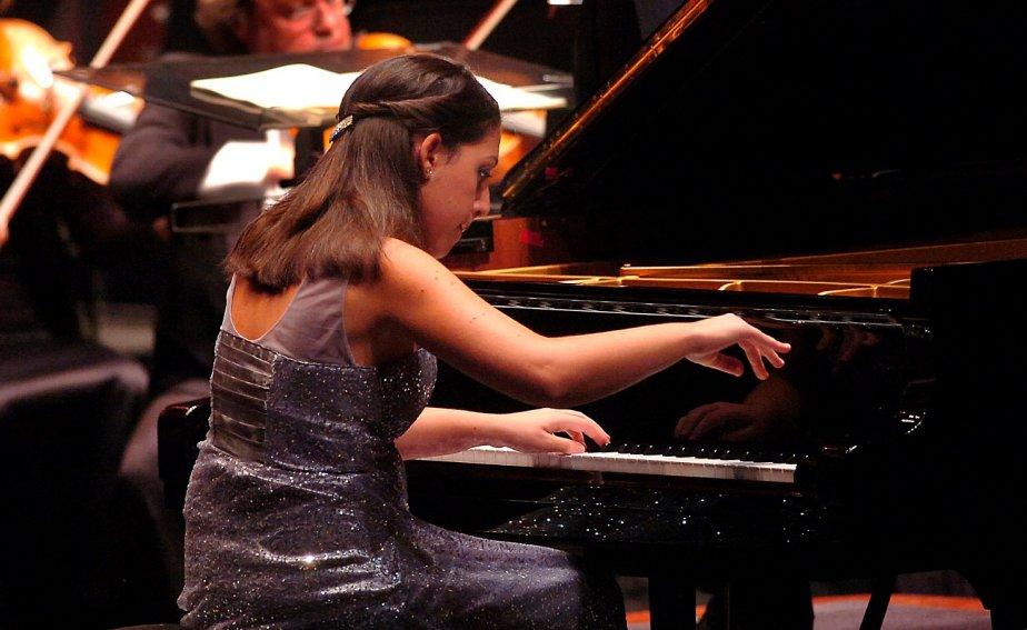 La pianiste Beatrice Rana... (Le Soleil Jean-Marie Villeneuve)