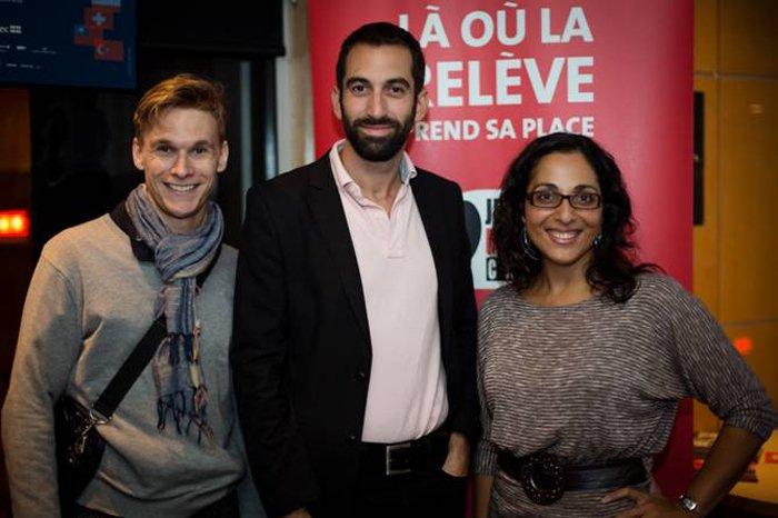 Trois responsables des activités JMC destinées aux enfants:... (Photo Pierre-Étienne Bergeron, JMC)