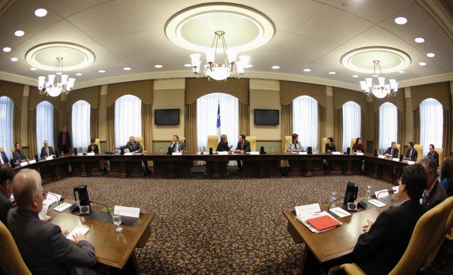 La salle du conseil des ministres. | 20 septembre 2012