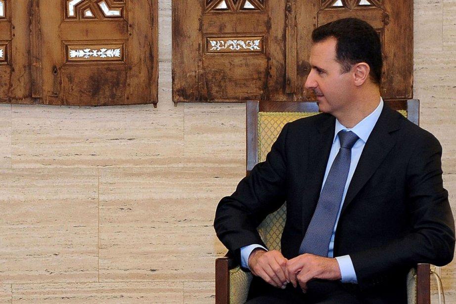 Le président syrien Bachar al-Assad... (PHOTO AFP/SANA)