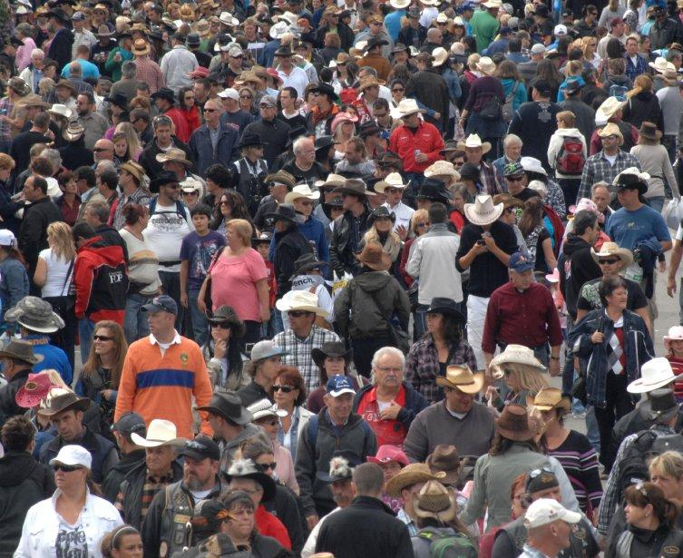 Comme chaque année, c'était la foule à Saint-Tite pendant le Festival. | 20 septembre 2012