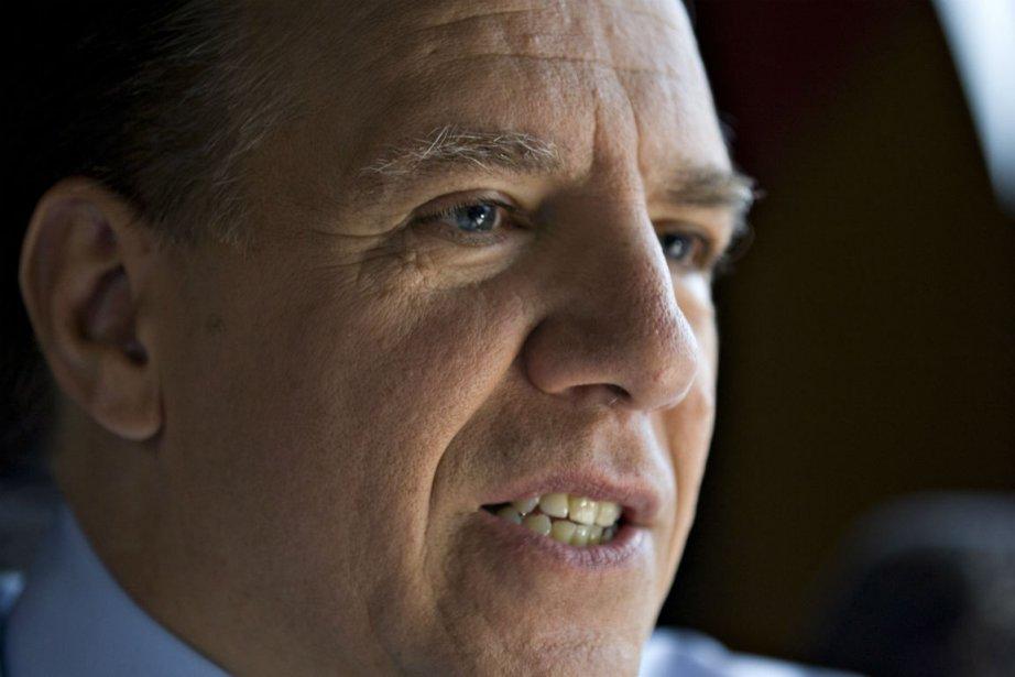 François Legault... (Photo Jacques Boissinot, La Presse Canadienne)