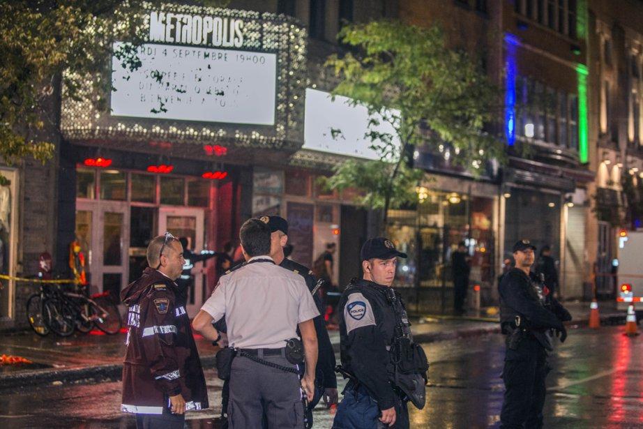La sécurité était adéquate au Métropolis le soir du 4 septembre,... (Photo: AFP)