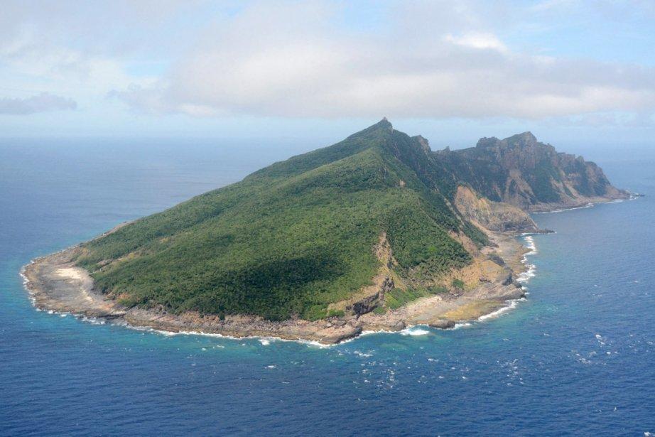 Une des îles de l'archipel de Senkaku/Diaoyu que... (PHOTO KYODO NEWS/AP)