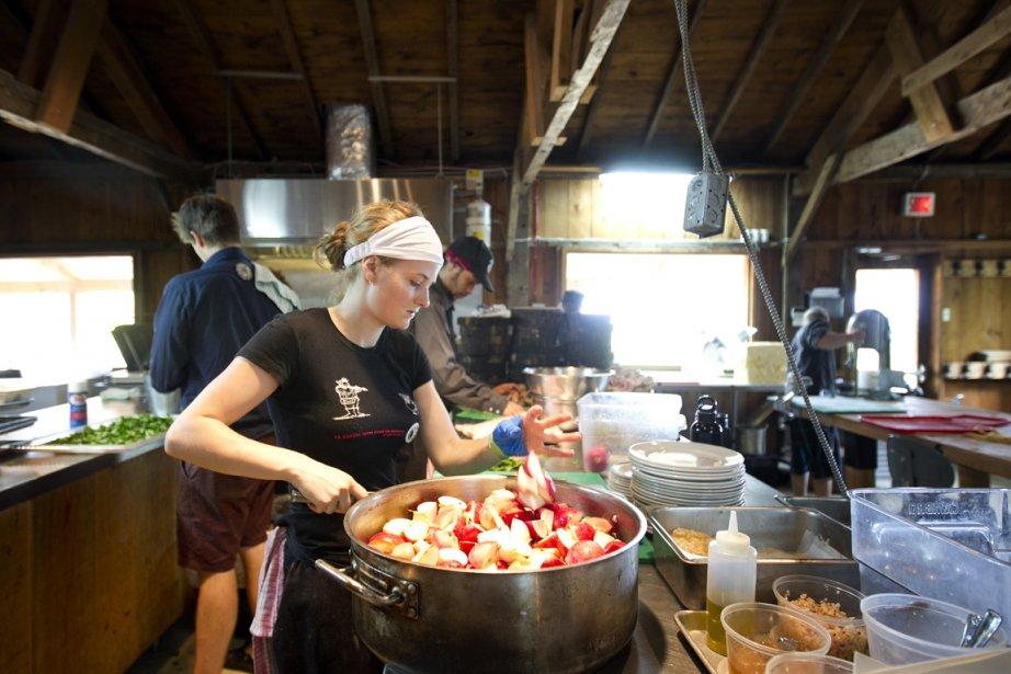 La cabane à sucre du Pied de cochon... (Photo: Marco Campanozzi, La Presse)