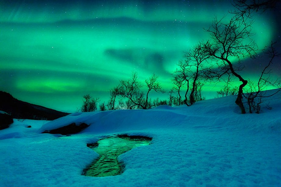 Une aurore boréale signée Arild Heitmann.... (PHOTO ARILD HEITMANN)