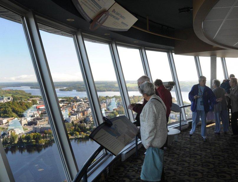 Des passagers du Balmoral sont allés visiter la Cité de l'énergie. | 21 septembre 2012