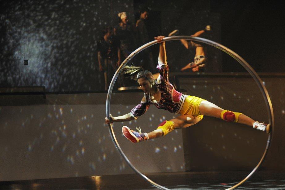 Le spectacle iD du cirque Eloize.... (Photo fournie par la TOHU)