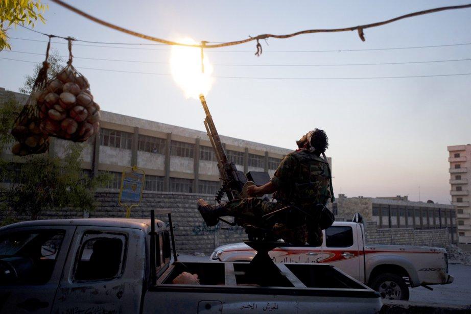 Alors que deux mois de combats acharnés n'ont... (PHOTO ZAC BAILLIE, AFP)