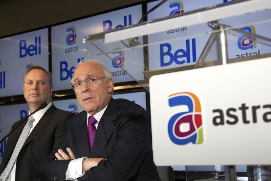 George Cope, PDG de Bell, Ian Greenberg, PDG... (PHOTO CHRISTINNE MUSCHI, REUTERS)
