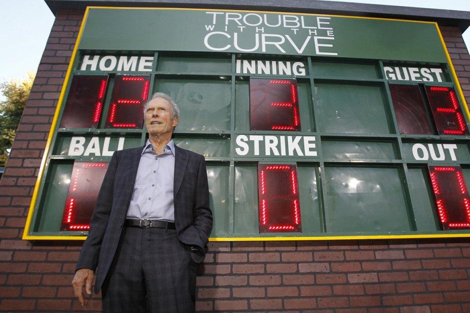 Clint Eastwood lors de la première de Trouble... (Photo Mario Anzuoni, Reuters)