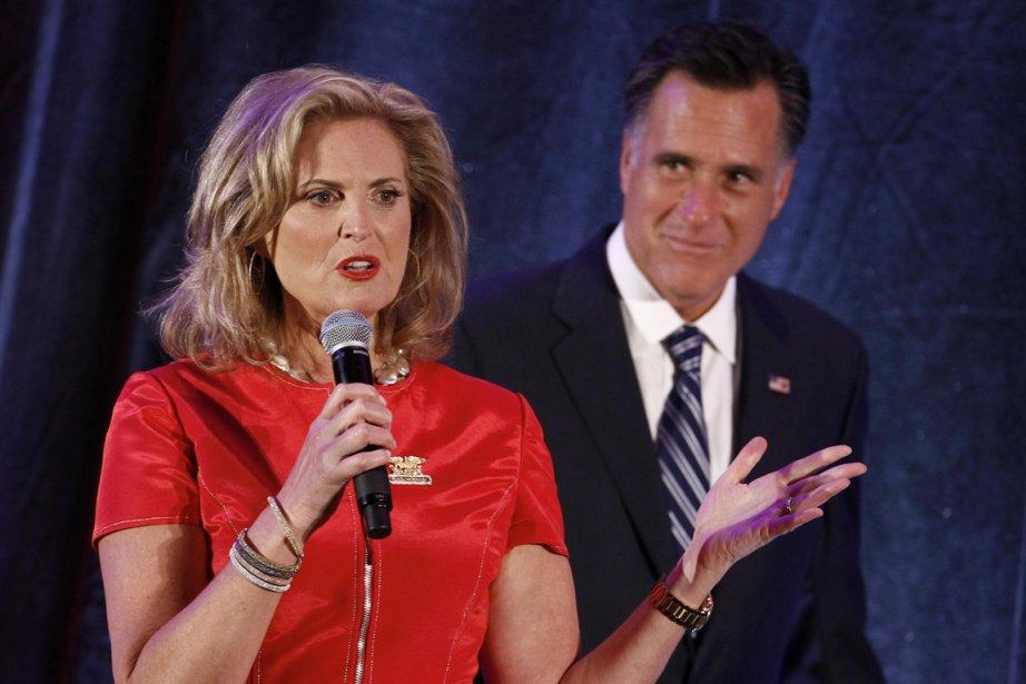 Ann Romney et son mari Mitt Romney.... (PHOTO JIM YOUNG, REUTERS)