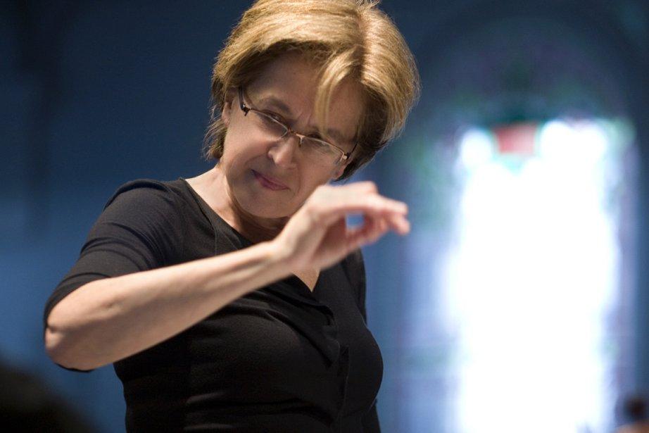 Lorraine Vaillancourt, la directrice artistique du Nouvel Ensemble... (Photo : Bernard Préfontaine, archives)