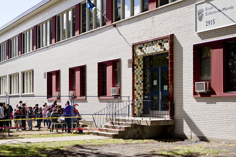 L'école primaire Enfants-du-Monde, à Saint-Laurent.... (Photo: Marco Campanozzi, La Presse)