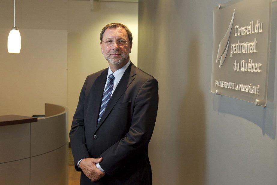 Yves-Thomas Dorval, président du Conseil du patronat du... (Photo: Hugo-Sébastien Aubert, archives La Presse)