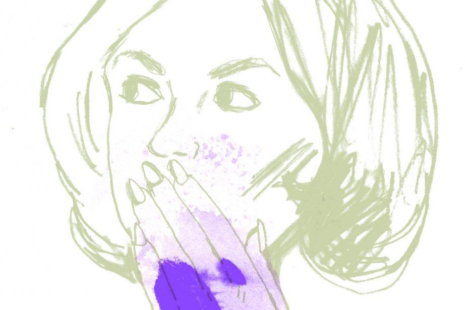 Natalia tient amoureusement son... (Illustration Francis Léveillé, La Presse)