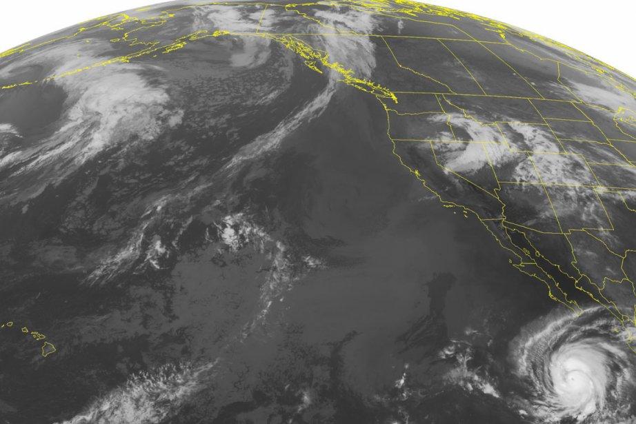 Les courants de fond provoqués par l'ouragan Miriam... (Photo: AP)