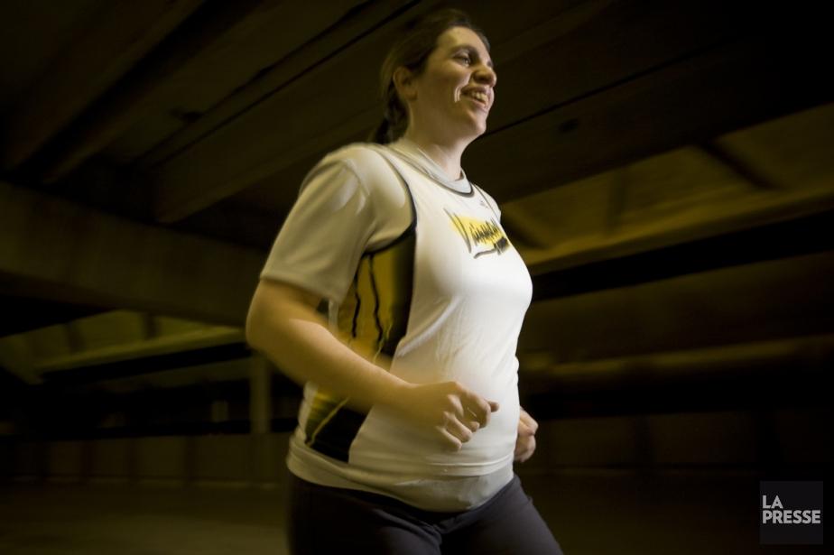 Trois séances hebdomadaires d'exercice modéré d'une durée de... (PHOTO ANDRE PICHETTE, LA PRESSE)