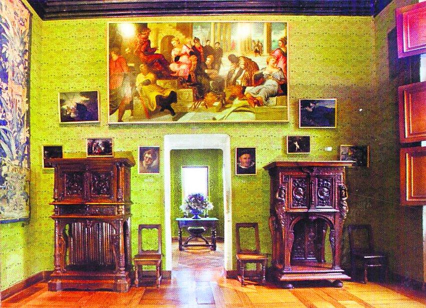 Cabinet vert de Catherine de Médicis. (guide de visite)
