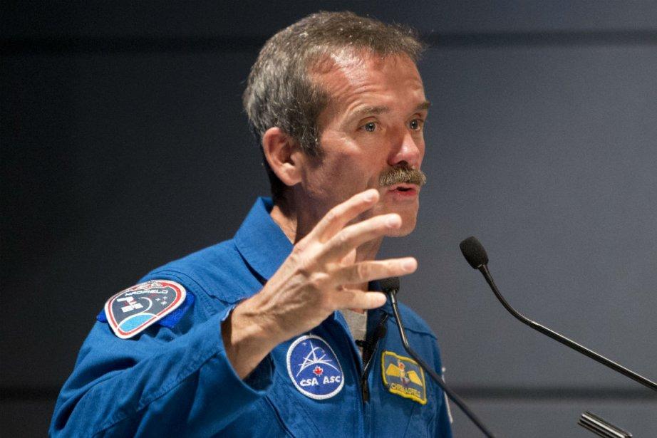 L'astronaute Chris Hadfield... (Photo Robert Skinner, La Presse)