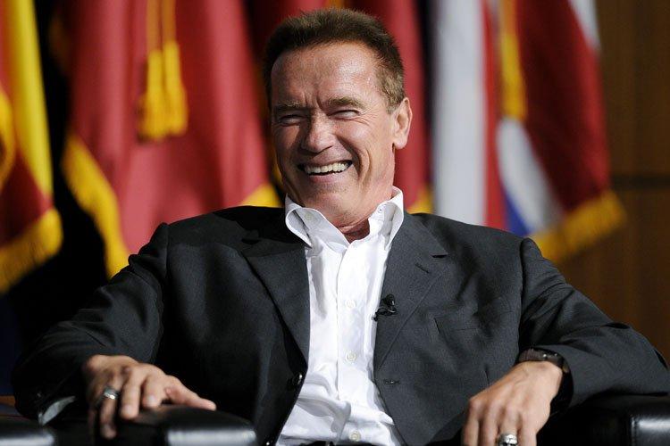 Arnold Schwarzenegger est apparu lundi à l'université de... (Photo: Reuters)
