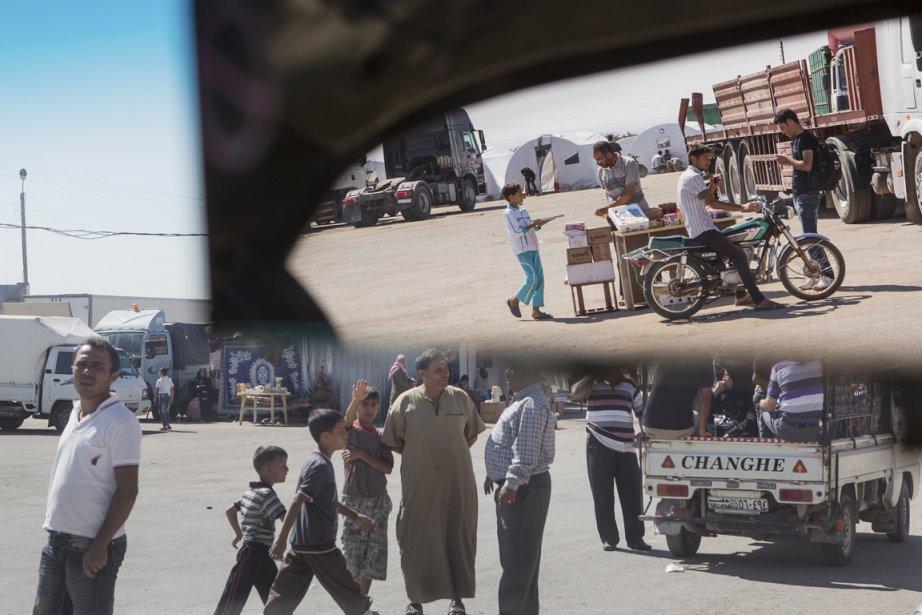 Au poste frontière entre la Syrie et la Turquie. | 25 septembre 2012