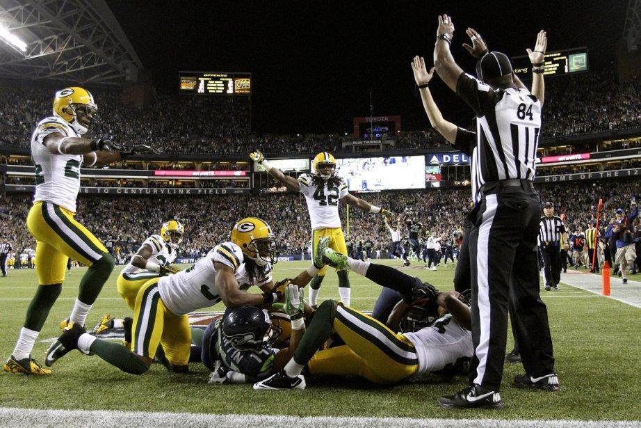 Les arbitres de remplacement de la NFL ont... (Photo: AP)
