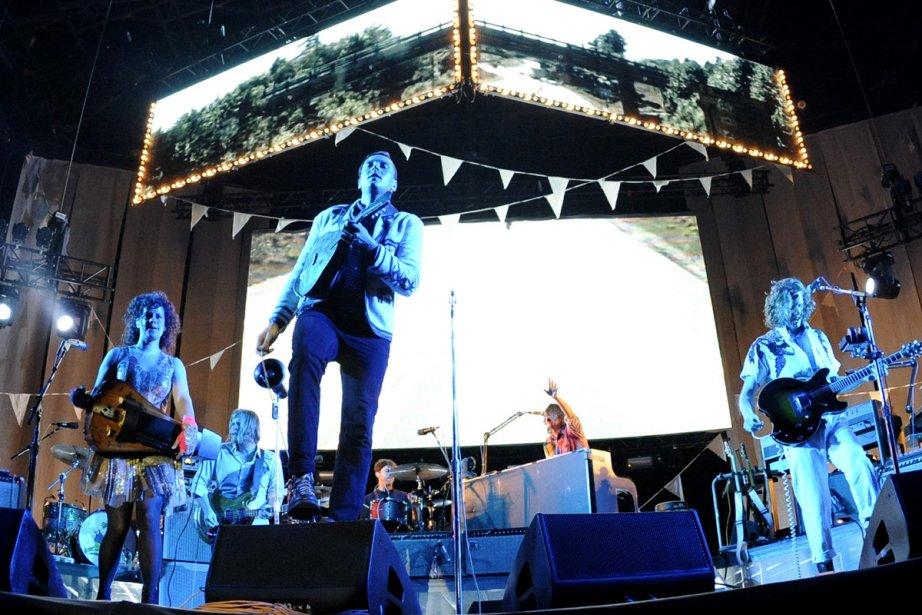 Arcade Fire... (Photo:  archives La Presse)