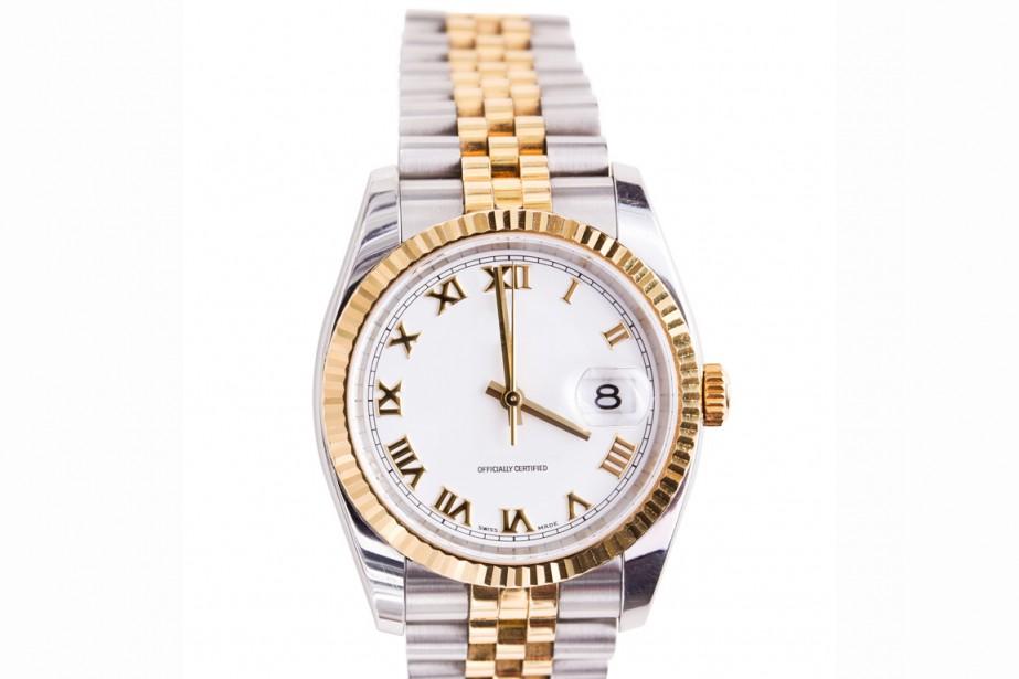 La montre en or, signe extérieur de richesse,... (Photo: Steve Heap/shutterstock.com)