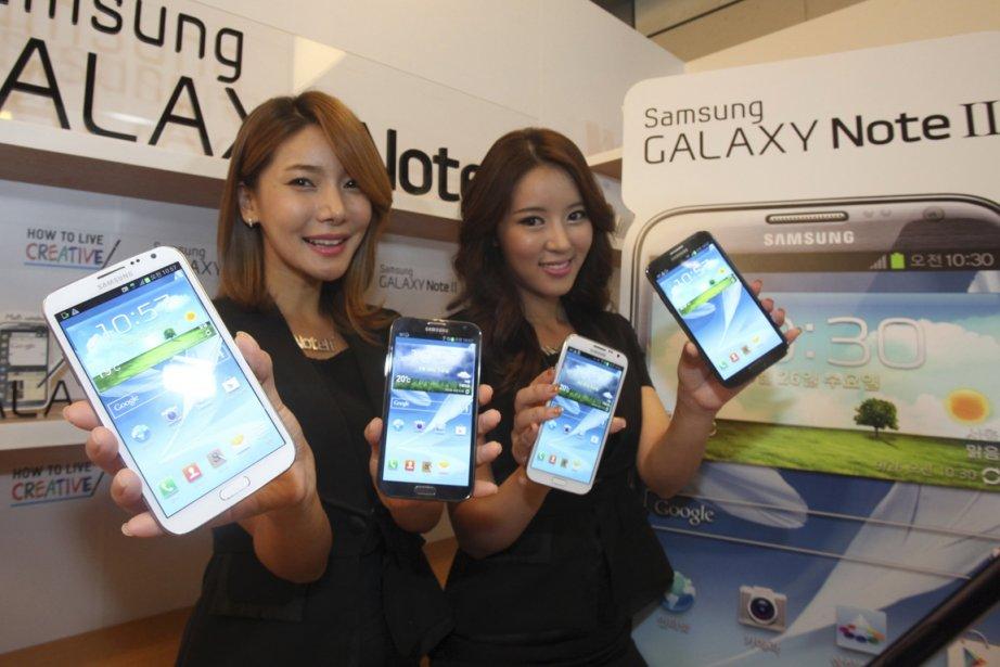 Samsung a lancé mercredi la dernière version de... (Photo Reuters)