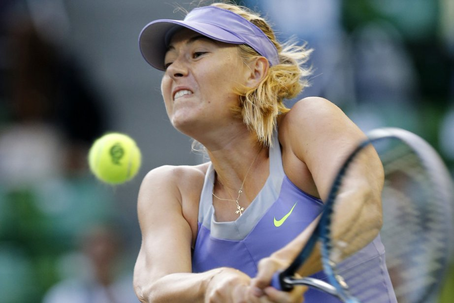 Maria Sharapova a dominé Lucie Safarova 6-2, 7-6... (Photo: Reuters)