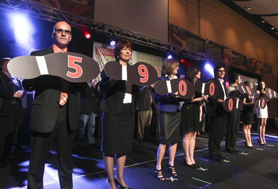 Lancement de la campagne de Centraide Outaouais.... | 2012-09-26 00:00:00.000