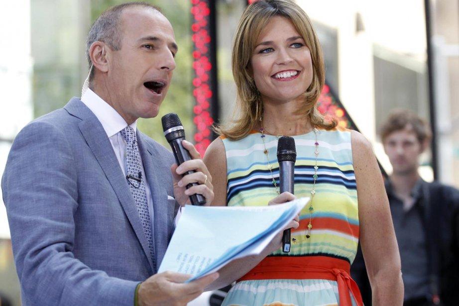 Matt Lauer et Savannah Guthrie... (Photo: Reuters)