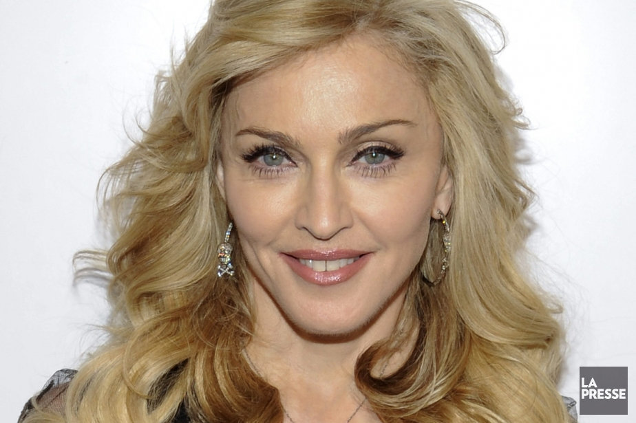 Madonna... (Photo:  archives La Presse)