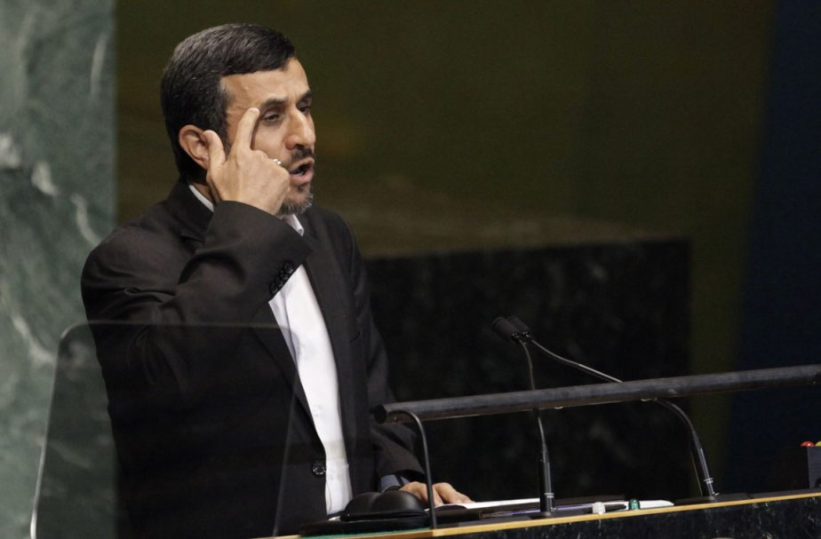 Le président de l'Iran, Mahmoud  Ahmadinejad.... (Photo: AP (Archives))