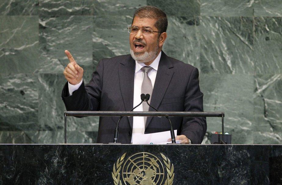 Malgré sa prudence, Mohamed Morsi a mis en... (Photo: AP)