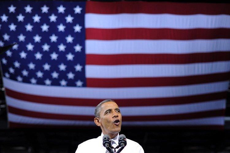 Dans leurs campagnes électorales, Barack Obama comme Mitt... (Photo: AFP)