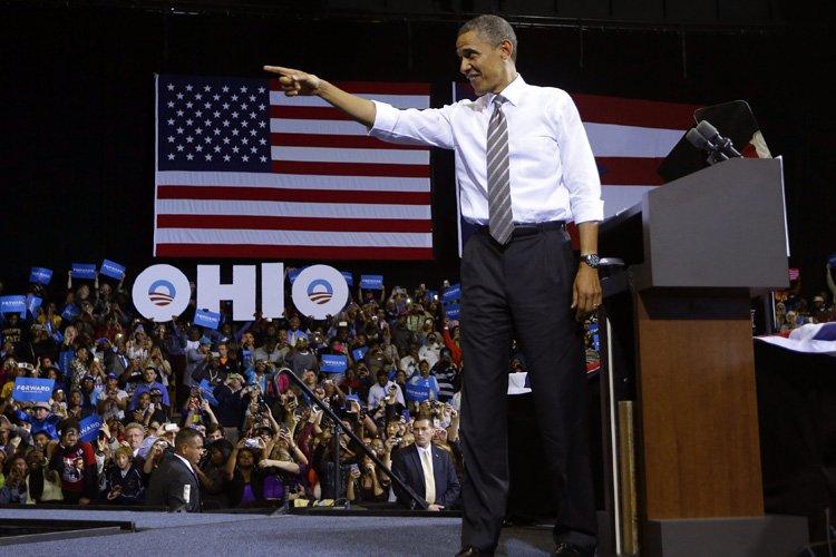 Barack Obama a livré un discours à l'Université... (Photo: AP)