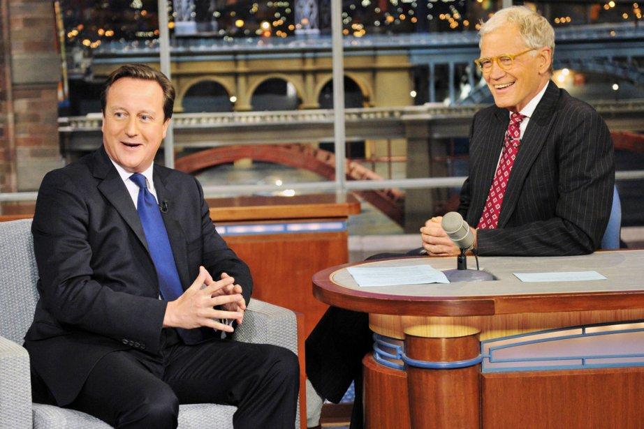 David Cameron, premier chef du gouvernement britannique à... (PHOTO JOHN PAUL FILO, REUTERS/CBS)