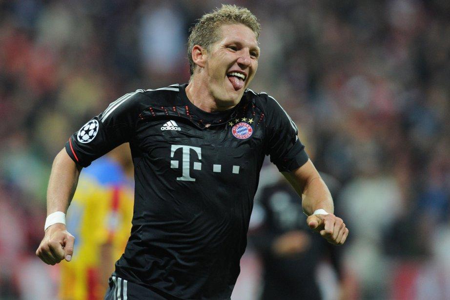 Bastian Schweinsteiger... (Photo: AFP)