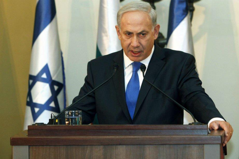 Le premier ministre israélien Benjamin Netanyahu... (Photo Gali Tibbon, Reuters)