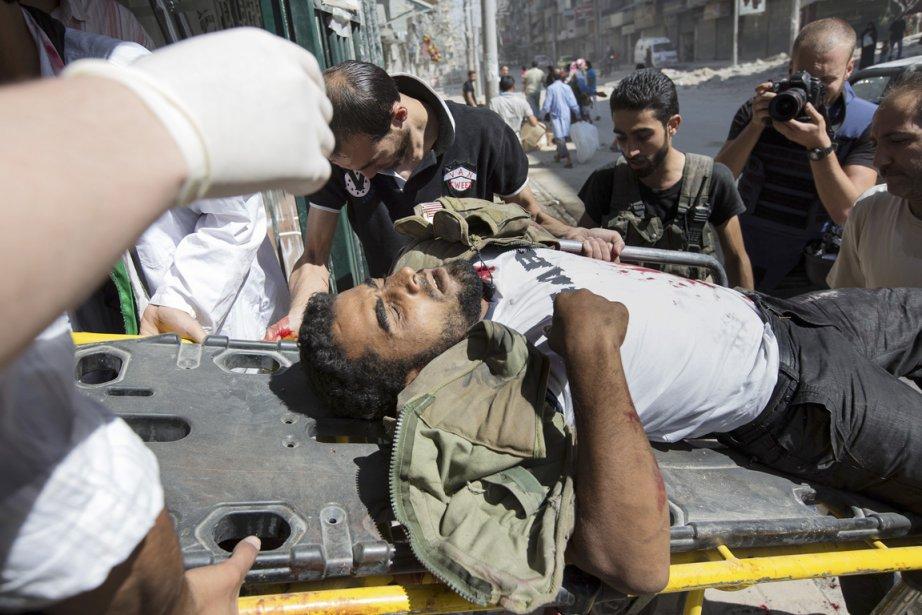 Les forces de Bachar al-Assad ont pilonné Alep, faisant au moins 23 morts. | 28 septembre 2012