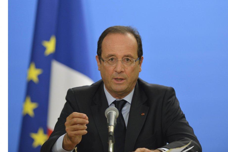 Le président de la France François Hollande.... (Photo Eric Feferberg, AFP)