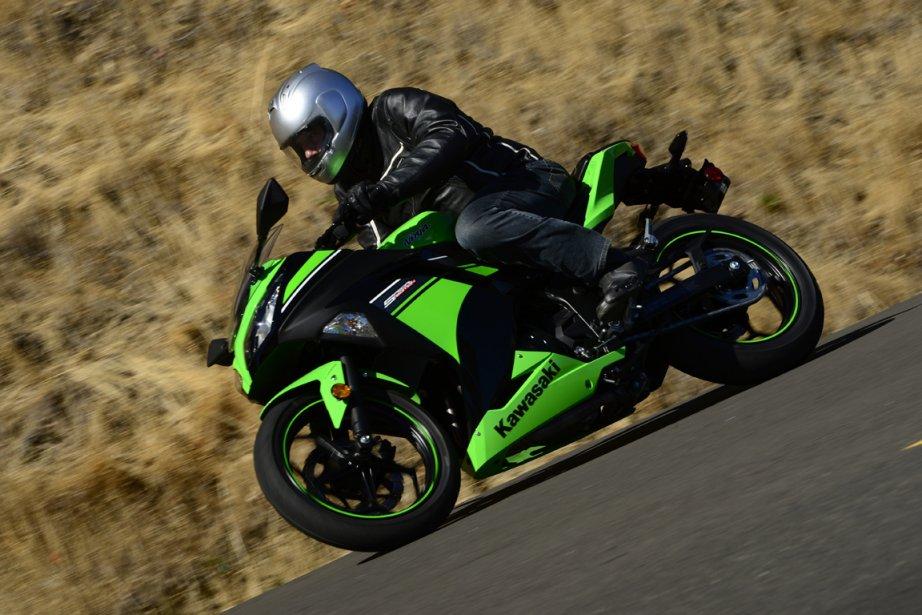 Les montures destinées aux motocyclistes novices ont traditionnellement... (Photo fournie par Adam Campbell)