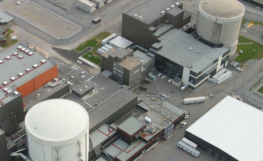 La centrale nucléaire Gentilly-2.... (Photo archives)