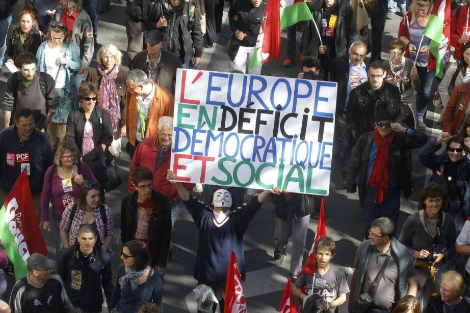 Les organisateurs ont insisté sur le caractère «unitaire»... (Photo Michel Euler, Associated Press)